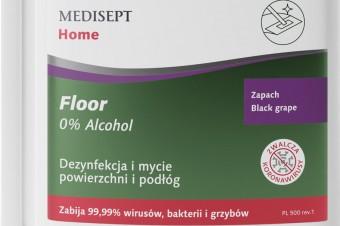 MEDISEPT Home Floor płyn do dezynfekcji i mycia podłóg, czyli skuteczność i bezpieczeństwo w jednym
