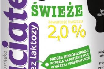 Mleko świeże Łaciate 2% bez laktozy