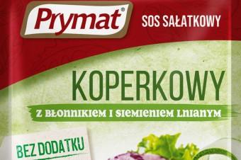 3 nowe sosy sałatkowe Prymat z superfoods