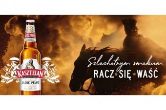 Szlachetny smak piwa w nowej reklamie marki Kasztelan