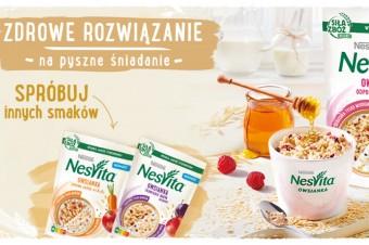 NESVITA® wprowadza nowe warianty owsianek funkcjonalnych