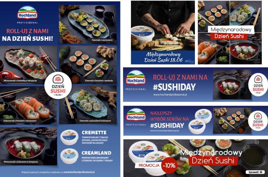 Hochland gotowy na Dzień Sushi
