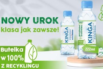 Kinga Pienińska 222ml rPET: nowy urok - klasa jak zawsze!
