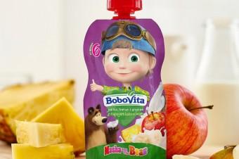 Nowe musy owocowe BoboVita Masza i Niedźwiedź