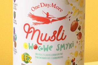 """OneDayMore stawia na """"czysty skład""""  w produktach śniadaniowych dla dzieci"""