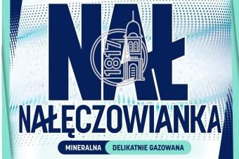 Nałęczowianka poszerza portfolio o nowe warianty 1 L – gazowany i delikatnie gazowany