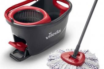 Nowość! Mop obrotowy Vileda Turbo 3w1 Mikrofibra – o 40% skuteczniejsze czyszczenie podłóg i to bez wysiłku!