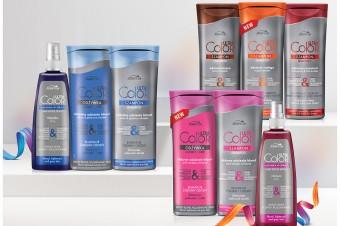 Ultra Color Joanna - szampony i odżywki odświeżające kolor