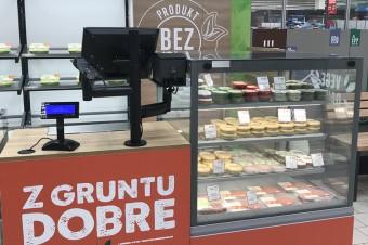 Pierwsze w Polsce stoisko vege firmy Sokołów