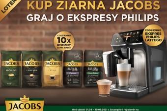 Wystartowała ogólnopolska loteria kaw ziarnistych marki Jacobs