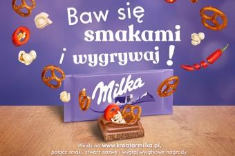 Milka stworzyła Kreator Smaków – baw się  i wygrywaj!