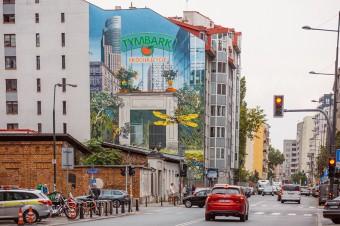 Tymbark prezentuje kontekstowy mural w sercu warszawskiej Woli