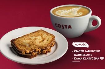 Jesień pełna smaku w Costa Coffee