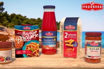 Powrót letnich smaków – Podravka w nowej kampanii promuje dania kuchni śródziemnomorskiej