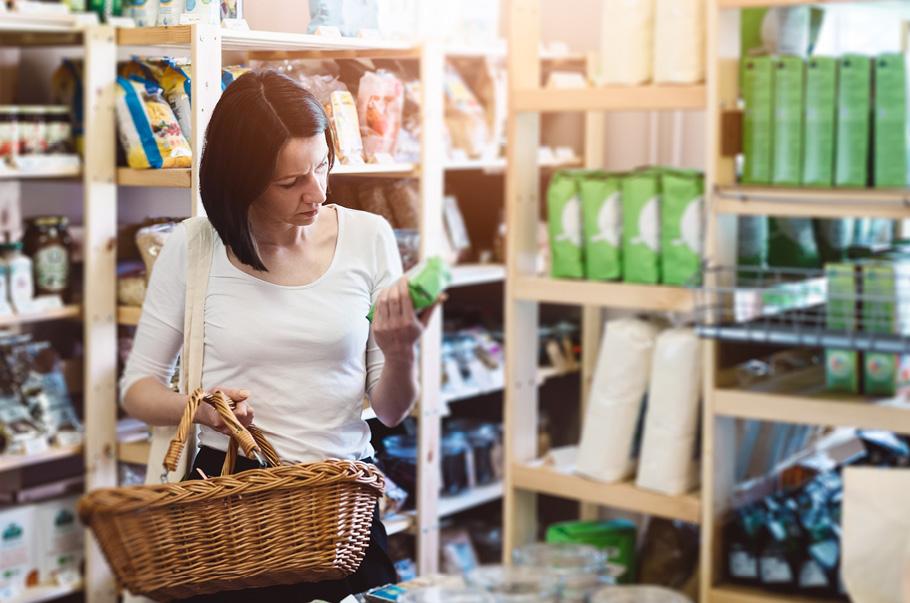 Sprzedaży w sklepach małoformatowych o 5,3% niższa niż przed rokiem