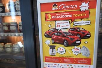 Loteria konsumencka w sklepach Chorten z 29 markami