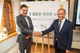 """Biedronka przeznaczy na rzecz PTOP """"Salamandra"""" min. 1,5 mln zł"""