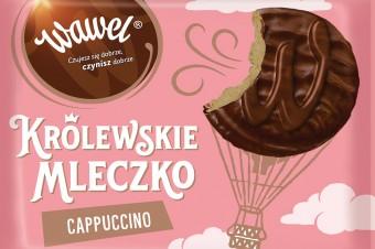Królewskie Mleczko Cappuccino – nowy smak od marki Wawel