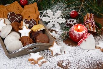 Słodkości pod choinkę