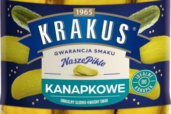 Wygodna nowość od Krakusa – Ogórki Kanapkowe!