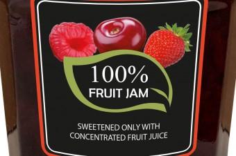 100% fruit spread