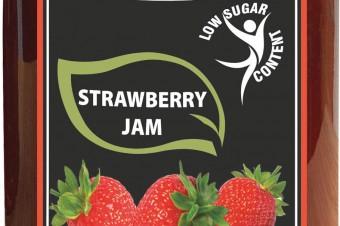Reduced sugar fruit preserves