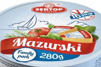 Processed product MAZURSKI – 280g round box
