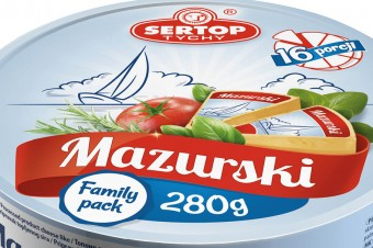 Processed product MAZURSKI – 280g round box
