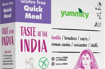 Gluten-free quick meal with an Indian flavor 216 g