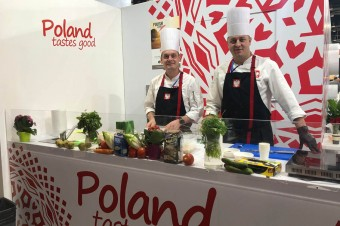 Polish products at the ISRAFOOD fair
