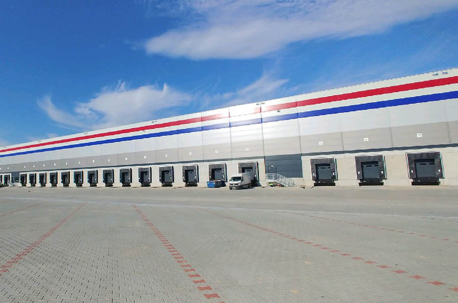 New PepsiCo central warehouse in Mszczonów