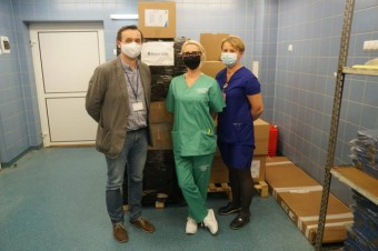 Panattoni joins the fight against coronavirus – PLN 500,000 worth of supplies going to three hospitals