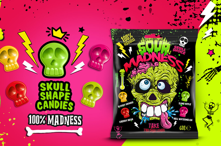 ARGO Sp. z o.o.: Coming soon  the premiere of the advertising spot TAKE THE CHALLENGE  SOUR MADNESS