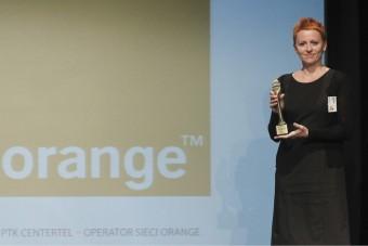 W imieniu Orange Polska dziękuję za to niezwykle ważne dla nas wyróżnienie!